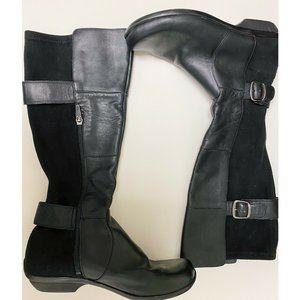 Dansko Women's Odessa Slouch Boot Black